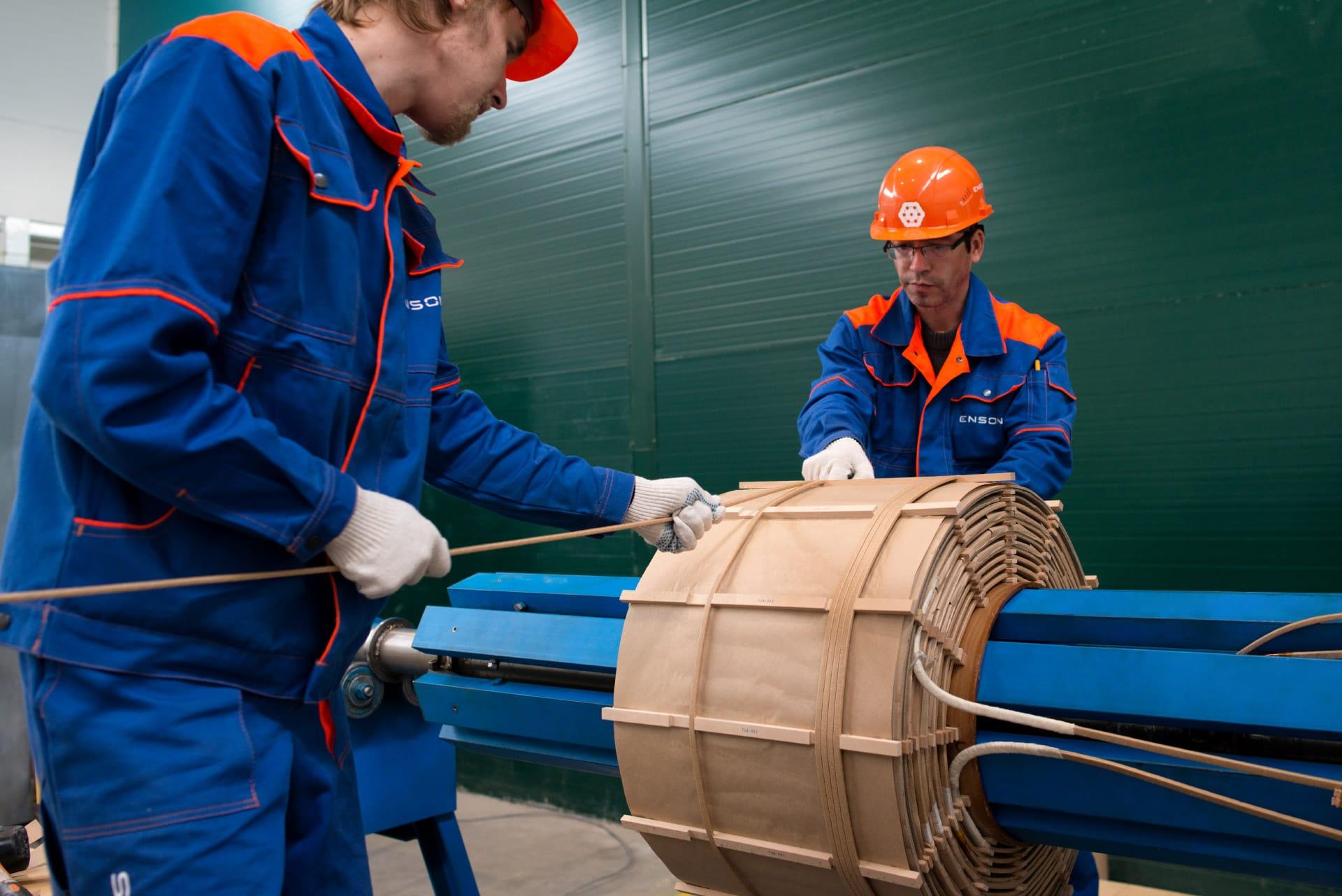 Ensons - Намотка обмоток дугогасящего реактора