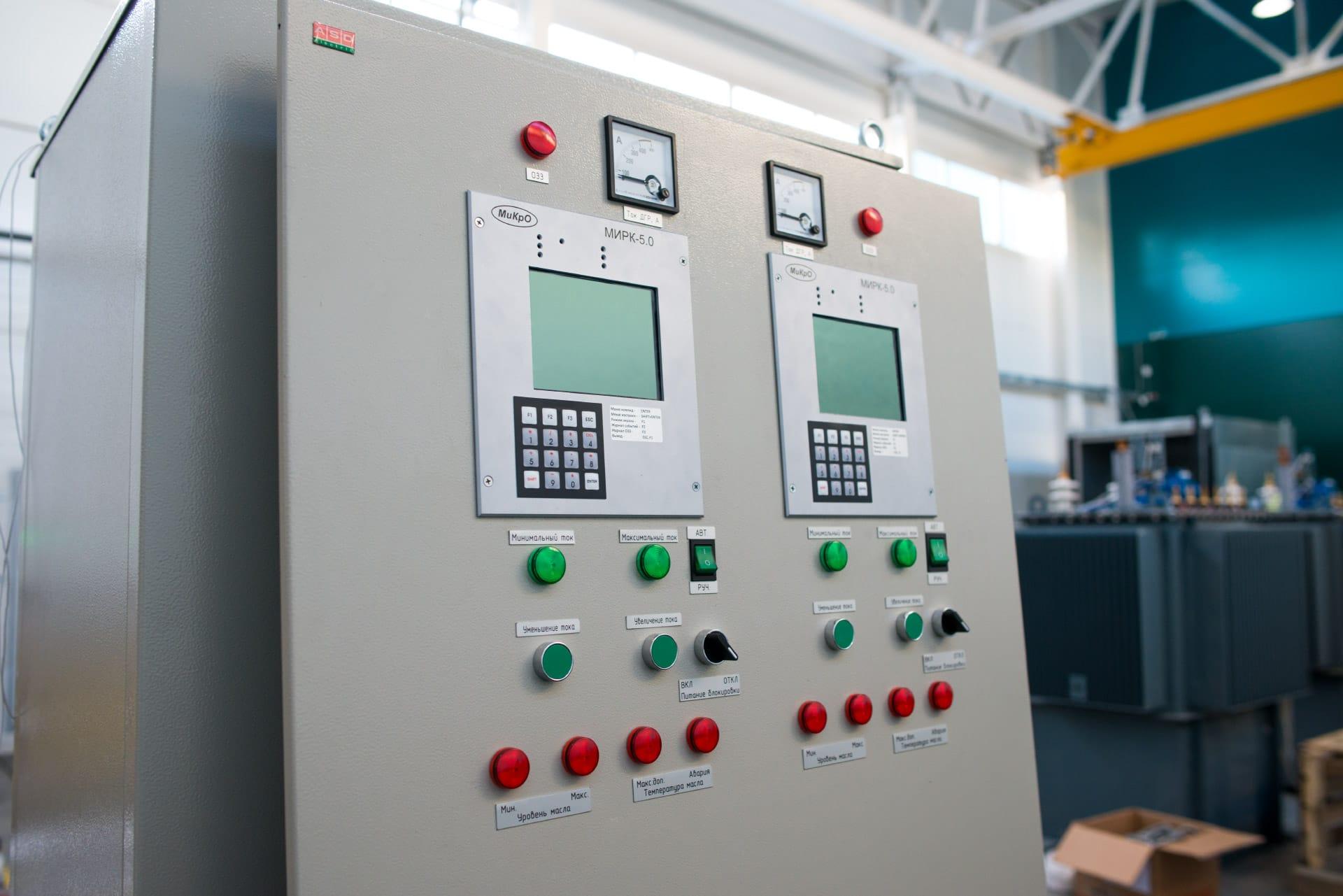 Ensons - Панель шкафа управления
