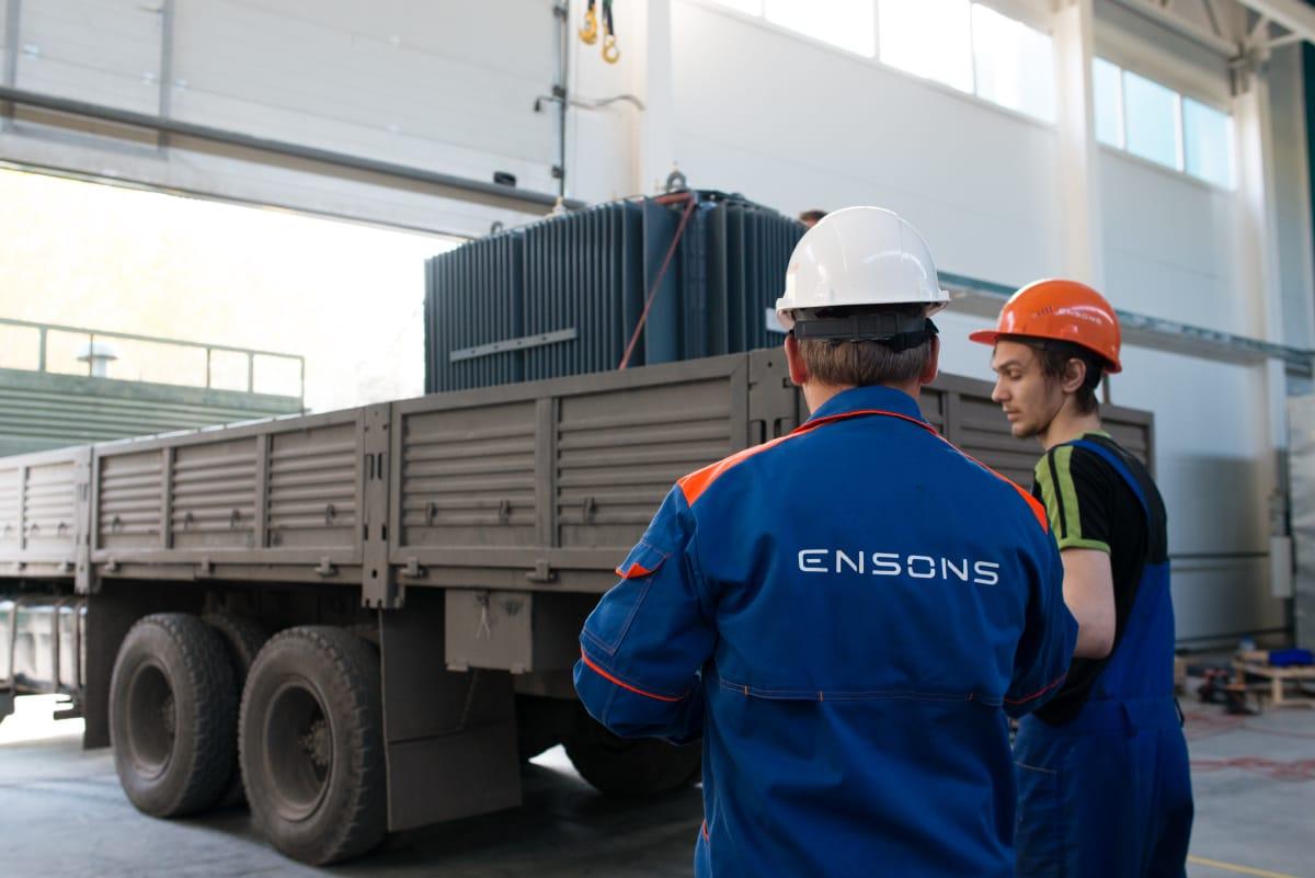 Ensons - Досрочная отгрузка ФМЗО для АО «Распределительные электрические сети»