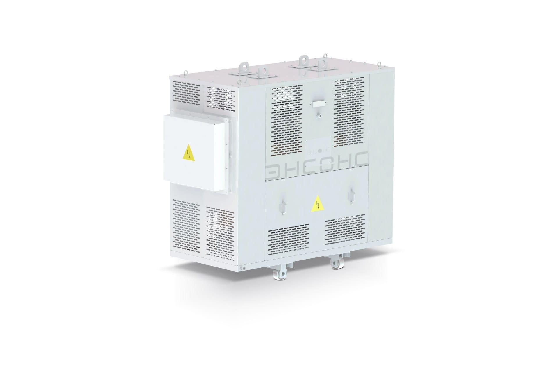Ensons - Общий вид присоединительного трансформатора ФСЗО (конструкторский рендер)