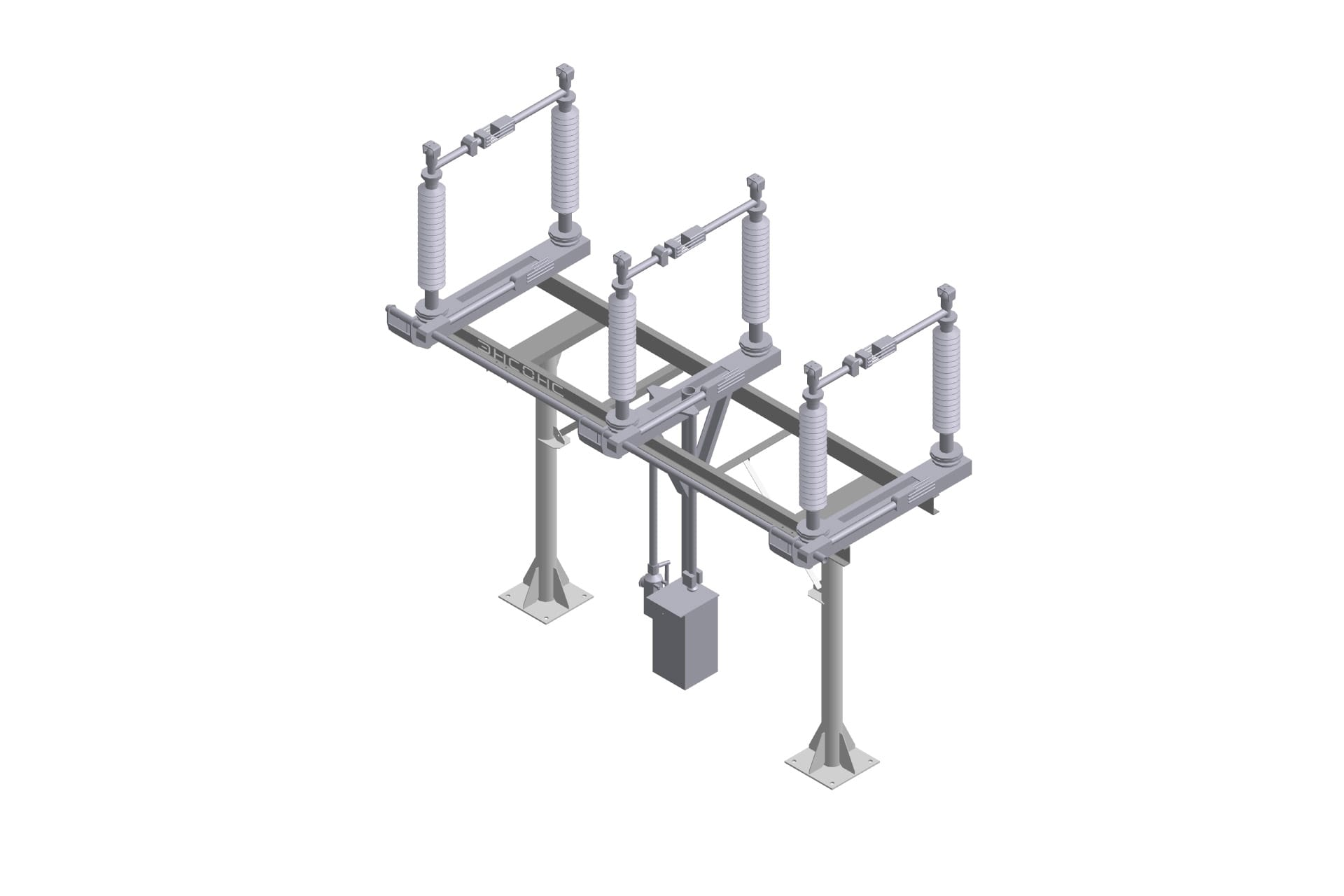 Ensons - Блок трехполюсного разъединителя 110 кВ