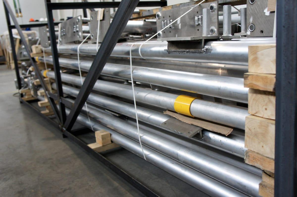 Ensons - Поставка комплекта опорных металлоконструкций для ПС 110 кВ «Качалка» ОАО «Тюменьэнерго»