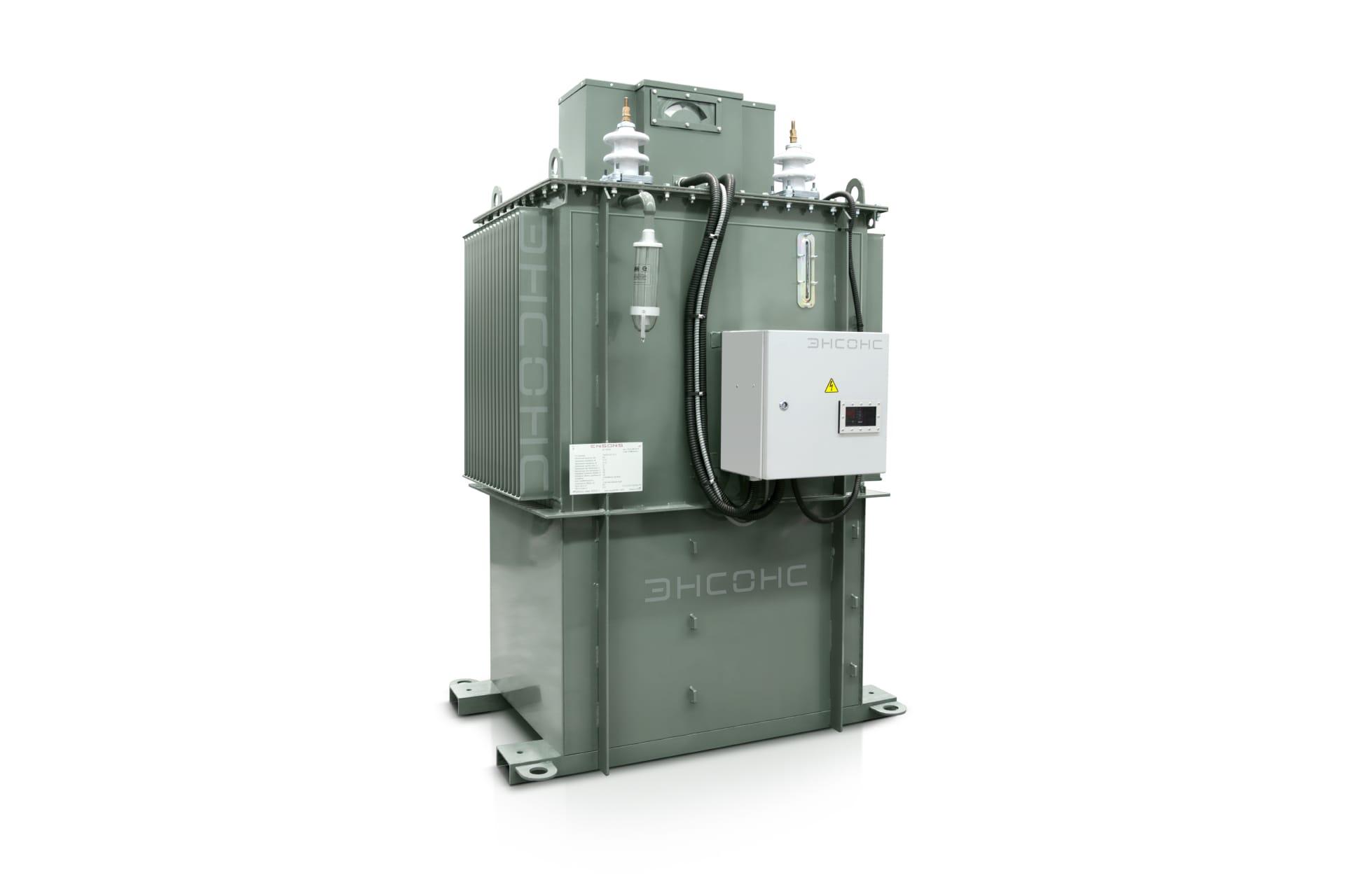 Ensons - Общий вид дугогасящего реактора РЗДПОМ 635 кВА
