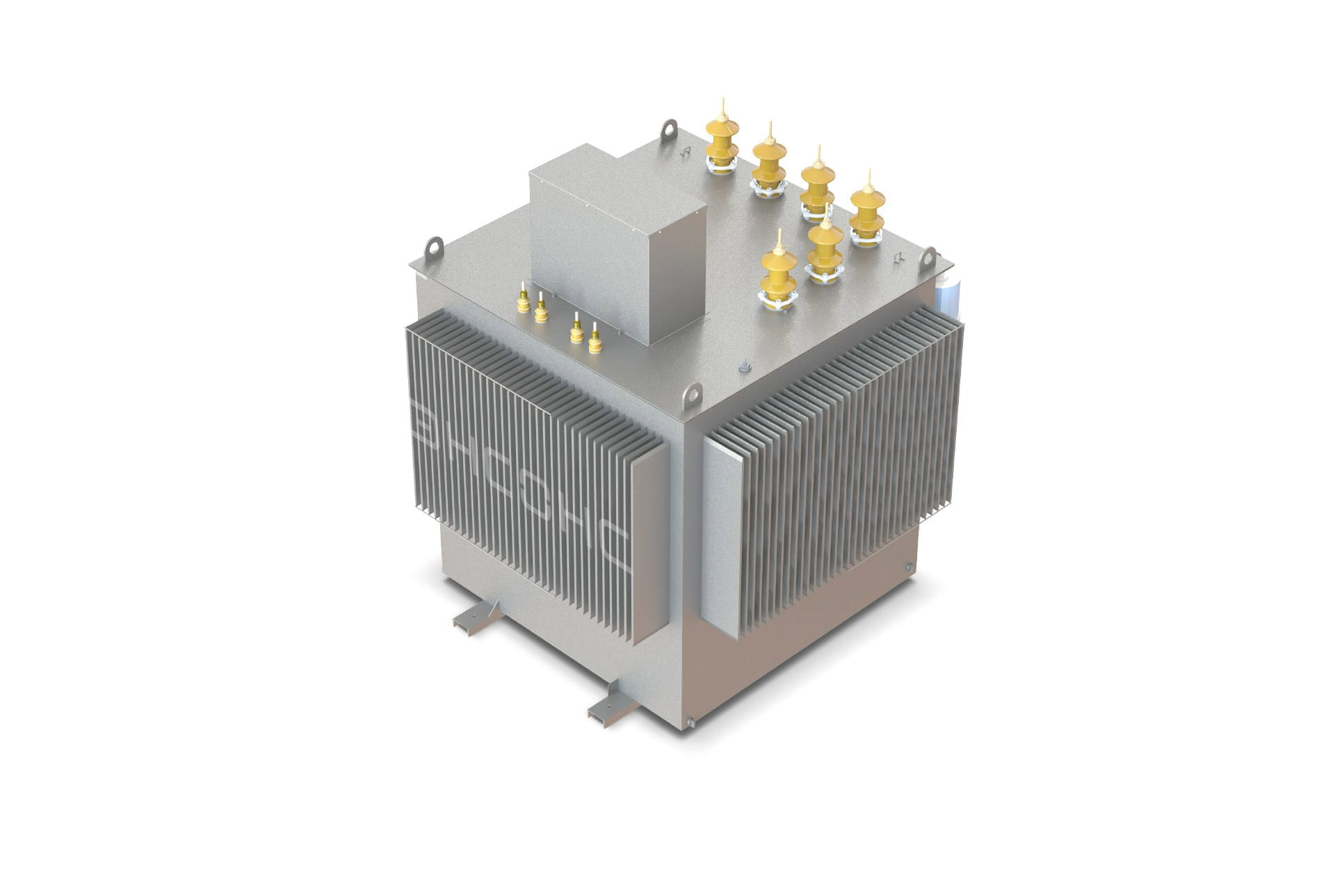Ensons - Общий вид агрегата АЗДПМ (конструкторский рендер)