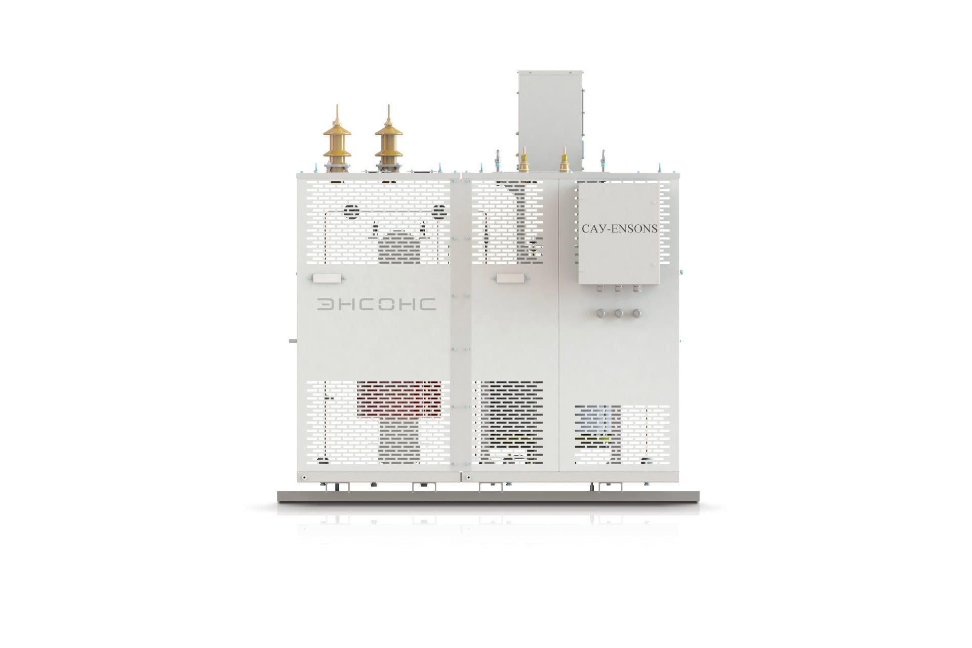 Ensons - Общий вид сухого агрегата АЗДПС (конструкторский рендер)
