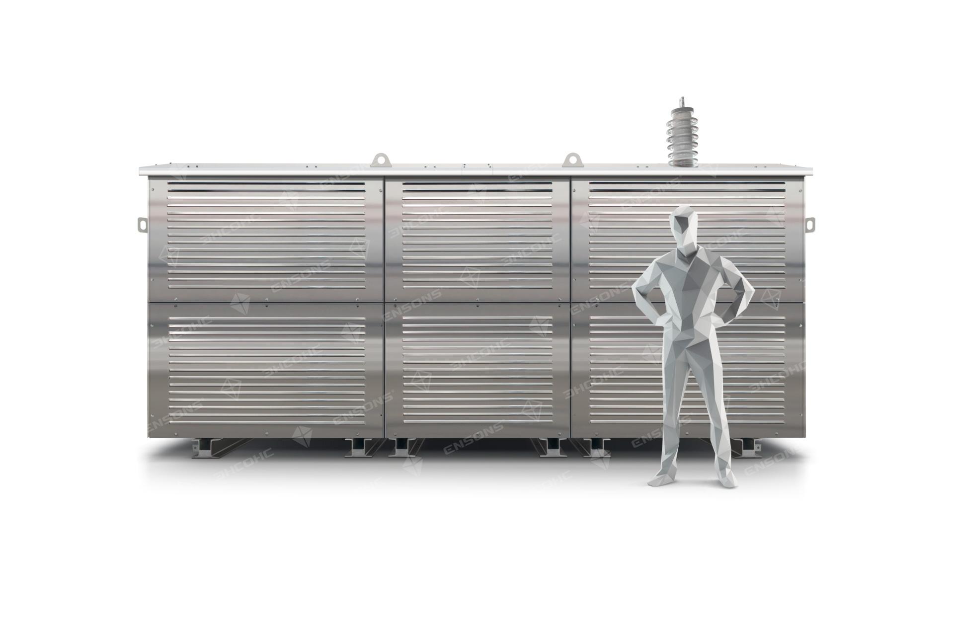 Ensons - Резистор 35 кВ и рост человека