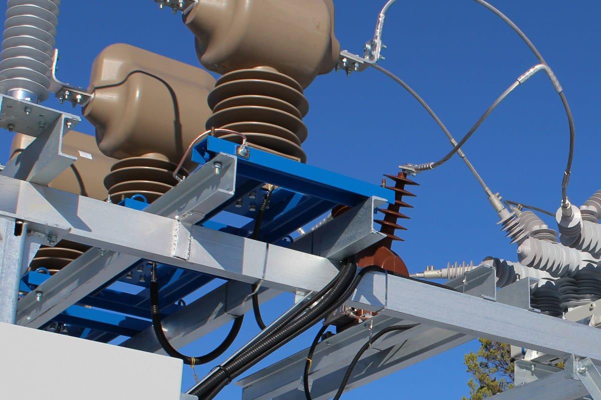 Ensons - Мобильные (передвижные) блоки ОРУ 35 и 10 кВ для комплектной трансформаторной подстанции (КТП) 35/10