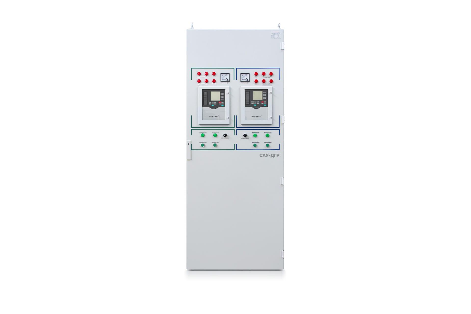 Ensons - Напольный шкаф. 2 модуля автоматического управления.
