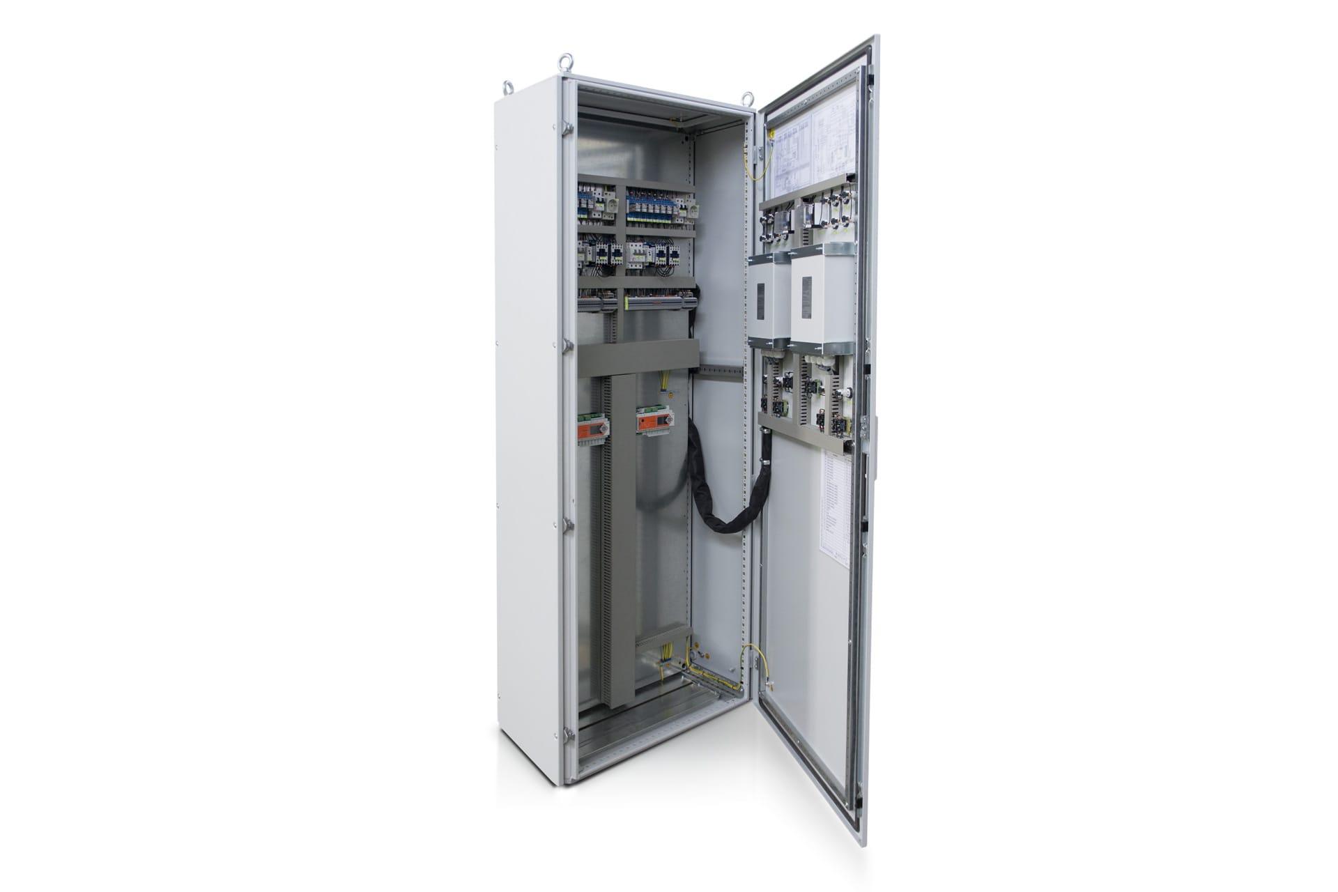 Ensons - Напольный шкаф управления с 2мя регуляторами на панели