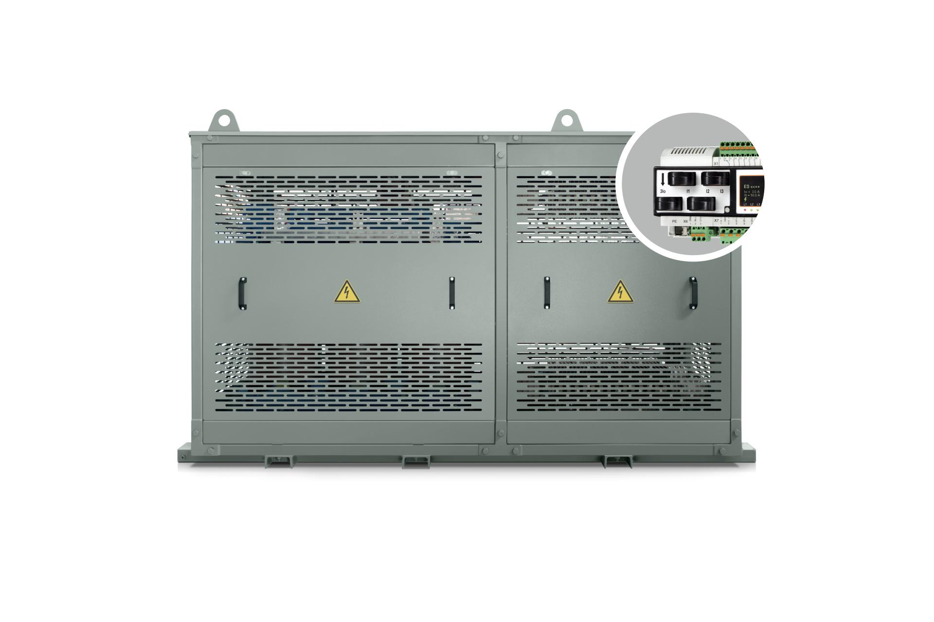Ensons - Низкоомное устройство резистивного заземления нейтрали / ОПФ