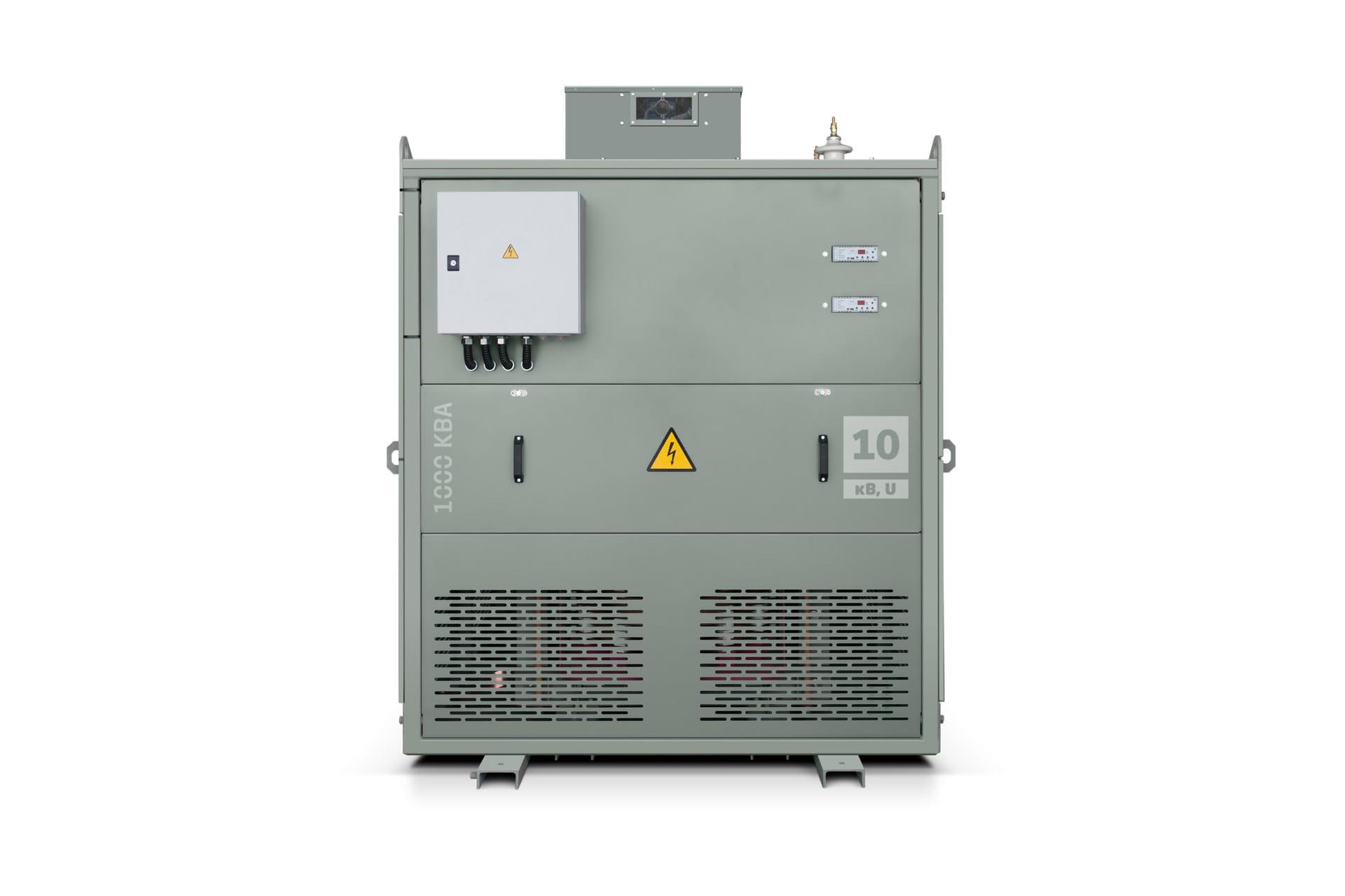 Ensons - Общий вид сухого агрегата АЗДПС 6(10) кВ