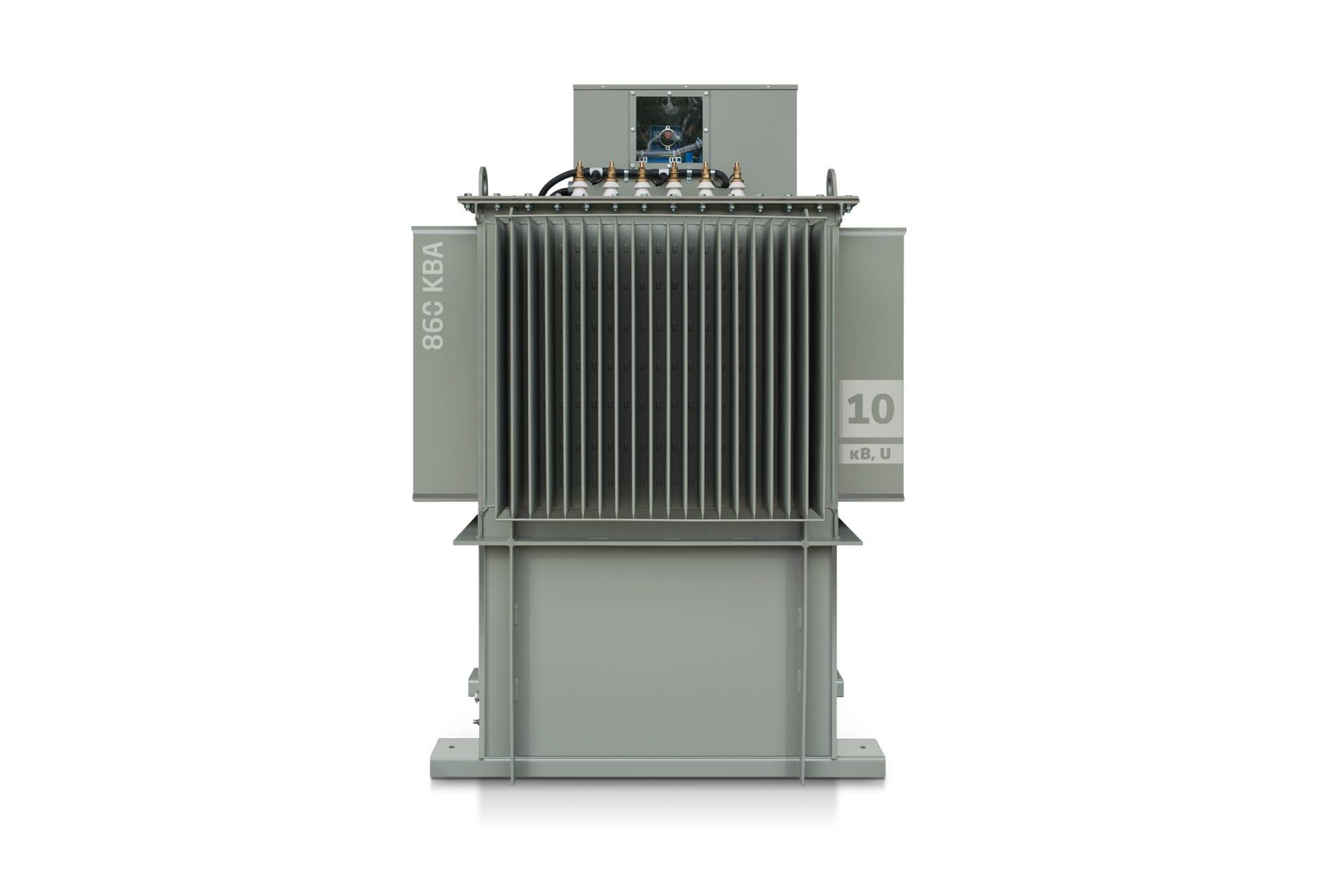 Ensons - Общий вид дугогасящего реактора РЗДПОМ 10 кВ