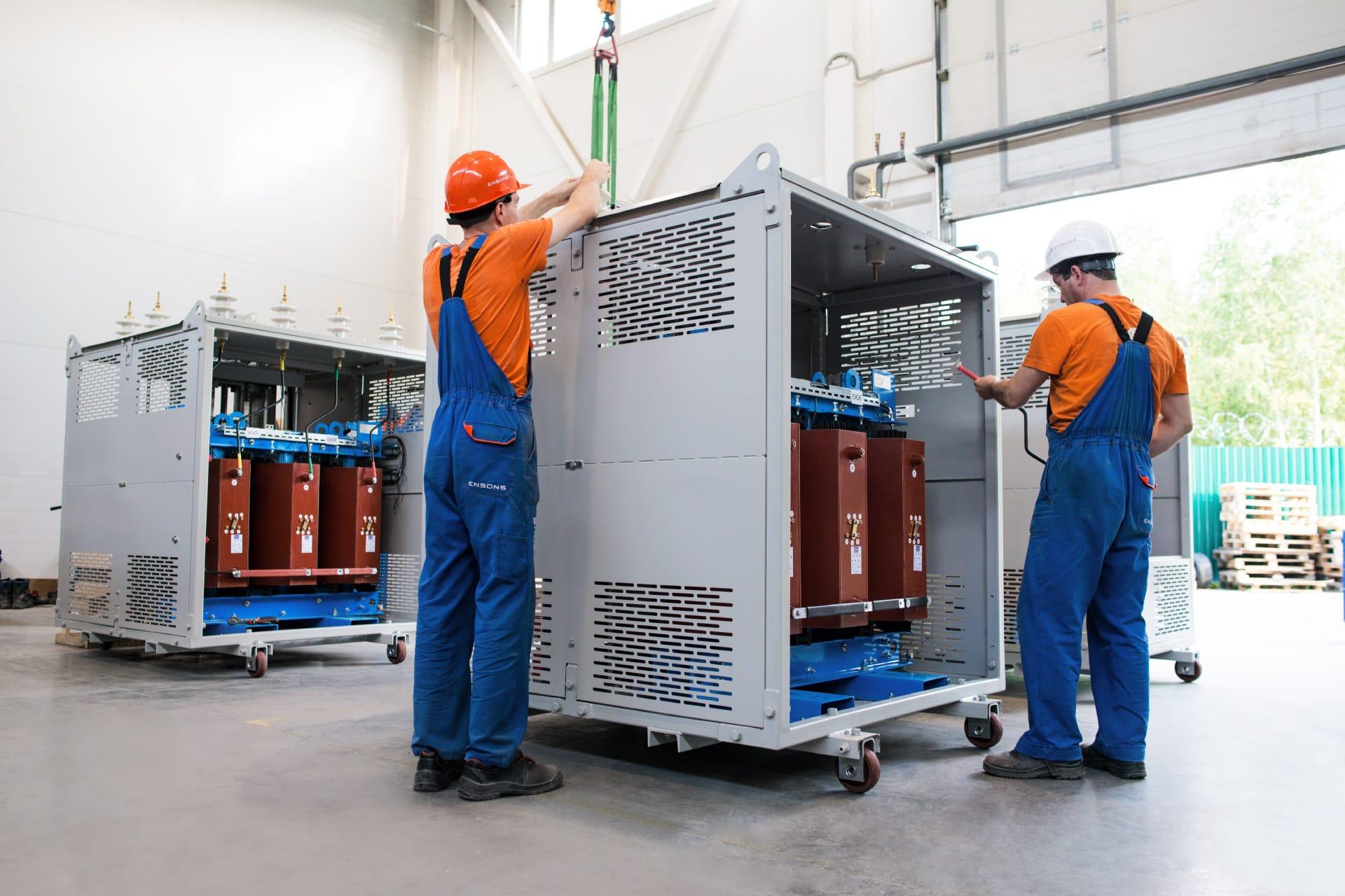 Ensons - Система компенсации емкостных токов для литейно-прокатного комплекса «Тулачермет-Сталь»