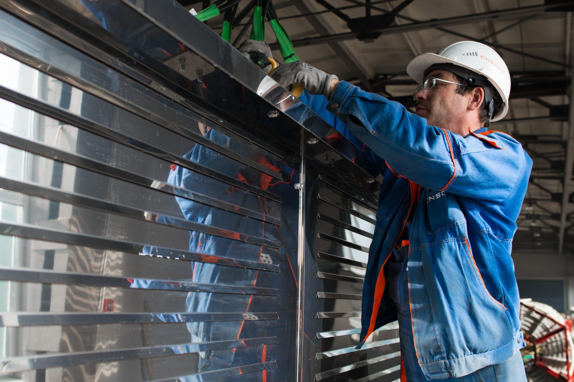 Ensons - Высокоомные резисторы на класс напряжения 35 кВ для МРСК Северо-Запада
