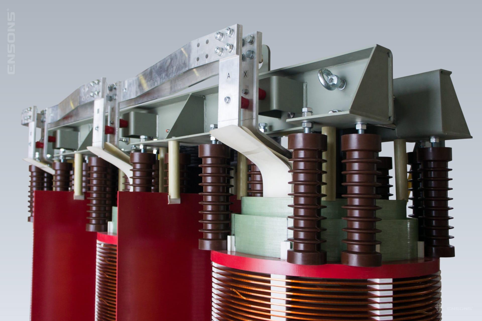 Ensons - Сухой трансформатор 35 кВ с воздушно-барьерной изоляцией