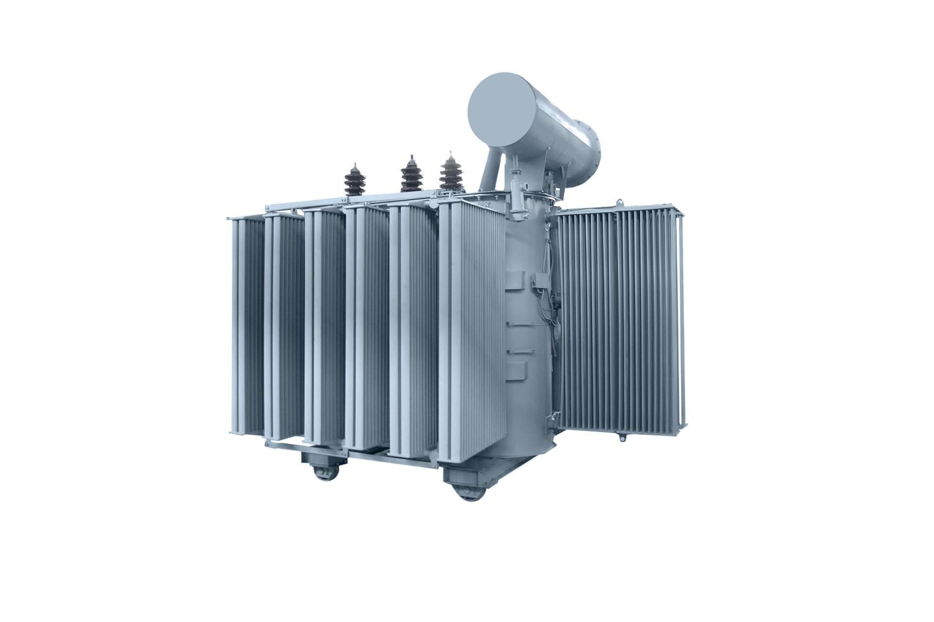Ensons - Общий вид масляного трансформатора ТМ 35 кВ