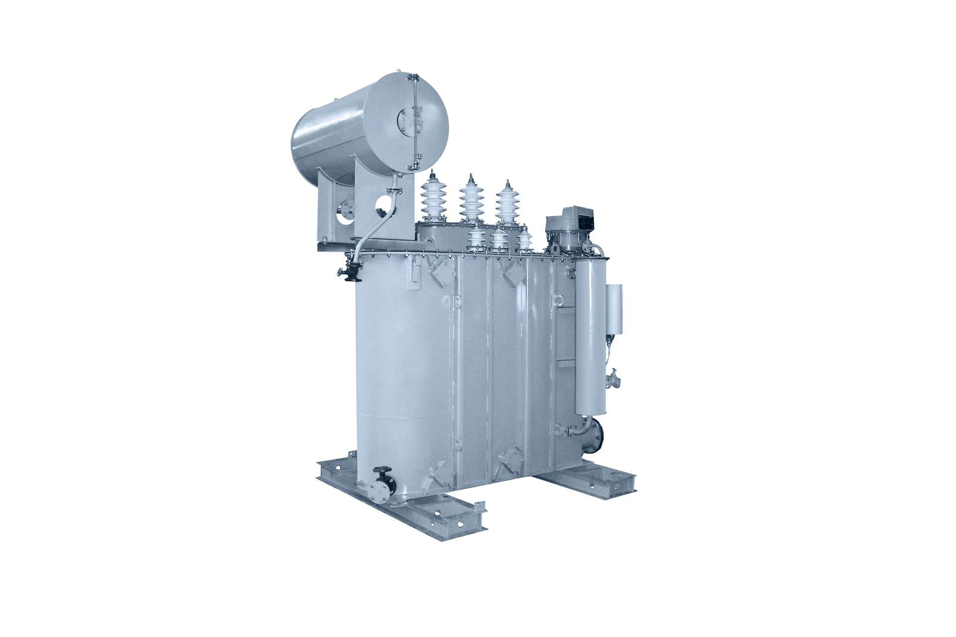 Ensons - Общий вид масляного трансформатора ТМН, ТМПН 35 кВ