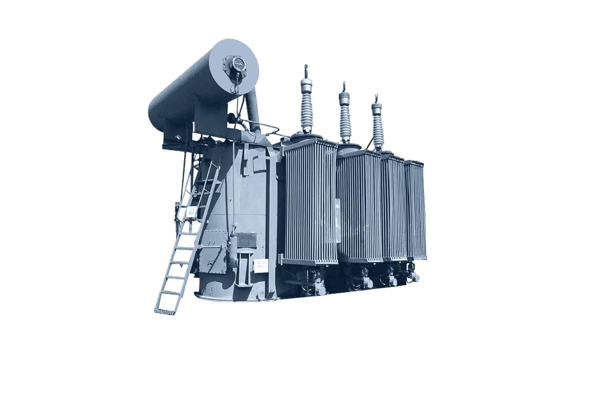 Ensons - Общий вид масляного трансформатора ТМН, ТДН, ТРДН 110 кВ