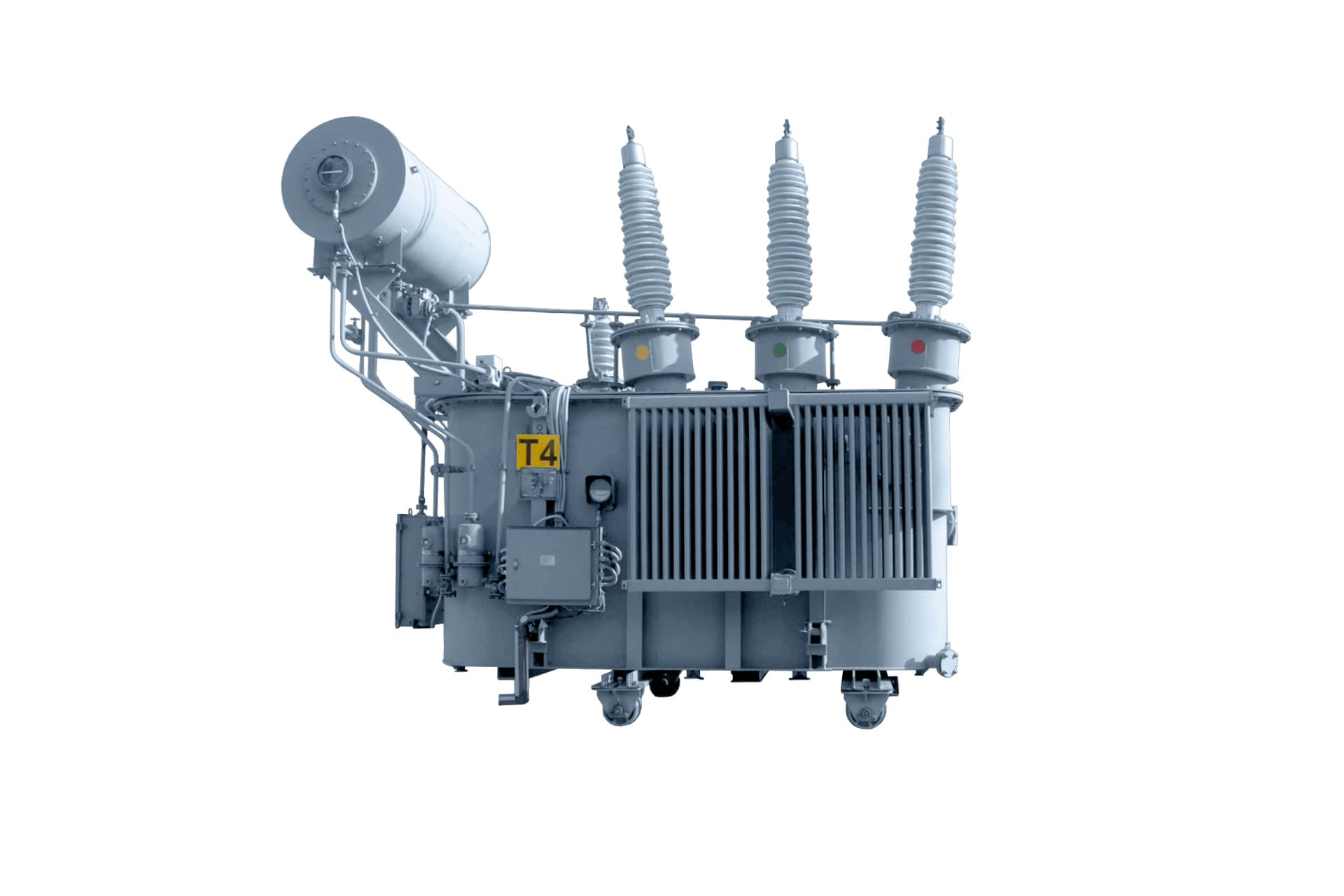 Ensons - Общий вид масляного трансформатора ТМНТ, ТДТН 110 кВ