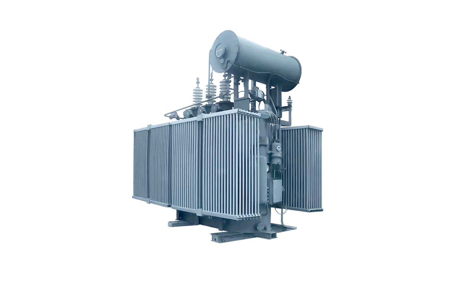 Ensons - Общий вид масляного трансформатора типов ТМП, ТДП, ТД, ТДС 35 кВ