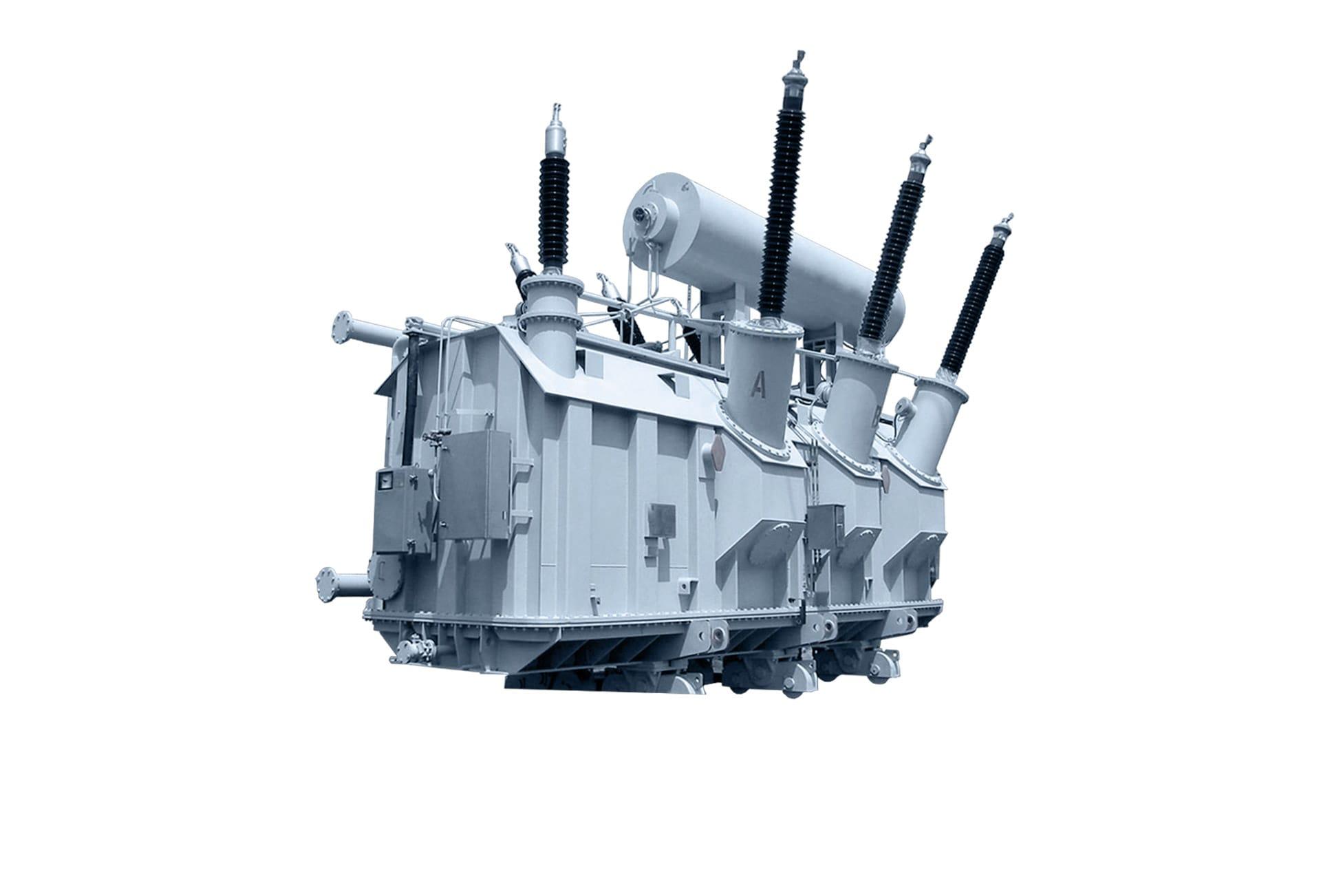 Ensons - Общий вид масляного трансформатора ТРДЦН 220 кВ