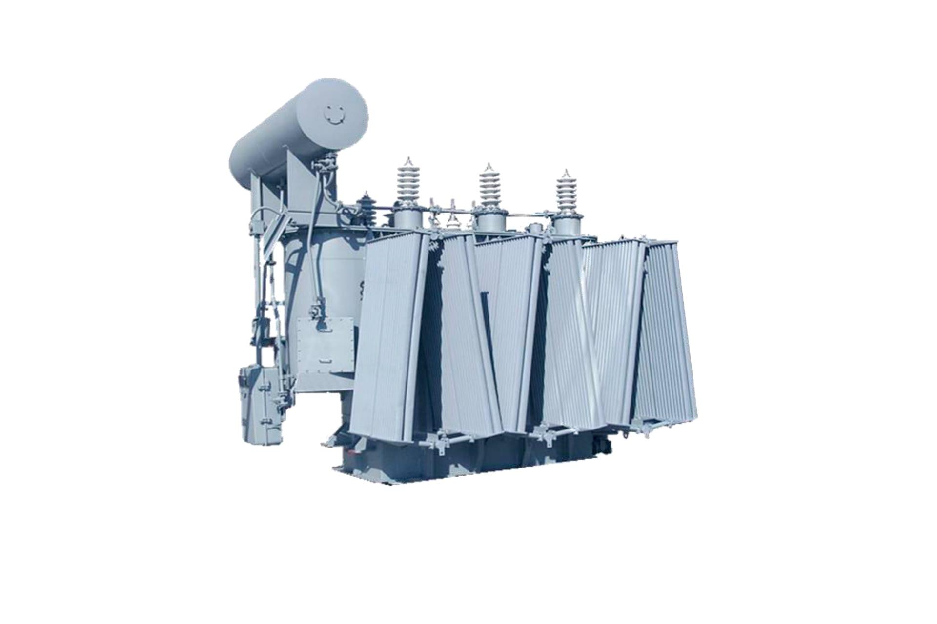 Ensons - Общий вид масляного трансформатора ТДНС, ТРДНС 35 кВ